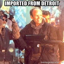 Clarence Boddicker - imported from detroit