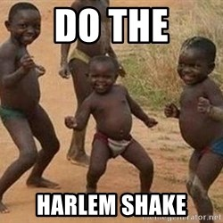 african children dancing - do the harlem shake