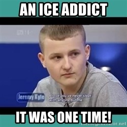Sympathy Sacha - AN ICE ADDICT IT WAS ONE TIME!