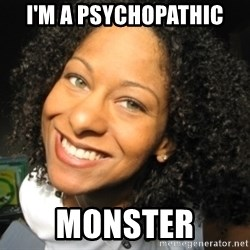 Adria Richards - I'm a psychopathic monster