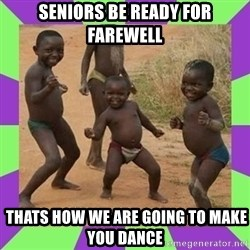 african kids dancing - seniors be ready for farewell  thats how we are going to make you dance
