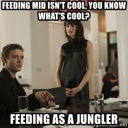 sean parker - Feeding mid isn't cool, you know what's cool? Feeding as a jungler