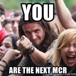 Ridiculously Photogenic Metalhead - you are the next mcr