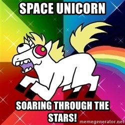 Lovely Derpy RP Unicorn - space unicorn soaring through the stars!