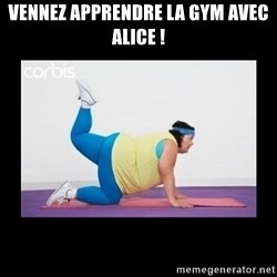 fat girl working out - vennez apprendre la gym avec alice !