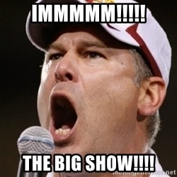 Pauw Whoads - IMMMMM!!!!! THE BIG SHOW!!!!