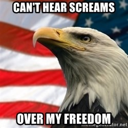MURICA EAGLE - Can't hear screams over my freedom