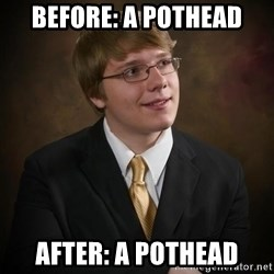 flyinchipmunk5 - before: a pothead after: a pothead
