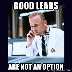 Apollo 13 - good leads are not an option