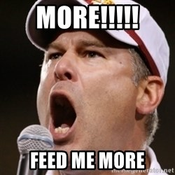 Pauw Whoads - More!!!!! Feed me more