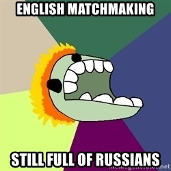 Average Dota Player - english matchmaking still full of russians