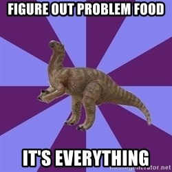 IBS Iguanadon - Figure out problem food it's everything