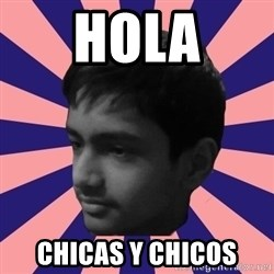 Los Moustachos - I would love to become X - HOLA CHICAS Y CHICOS