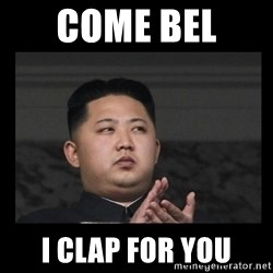 Kim Jong-hungry - COME BEL  I CLAP FOR YOU