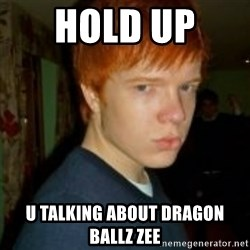 Flame_haired_Poser - HOLD UP  U TALKING ABOUT DRAGON BALLZ ZEE