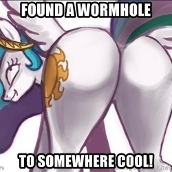 Princess Molestia Flank - Found a wormhole to somewhere cool!