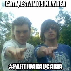 god of punk rock - Gata, estamos na area #partiuaraucaria