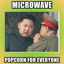 kim joung - microwave  popcorn for everyone