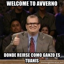 drew carey whose line is it anyway - welcome to avverno donde reirse como ganzo es tuanis