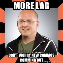 David Vonderhaar - More lag Don't worry new comMOS comming out