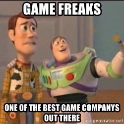 X, X Everywhere  - game freaks one of the best game companys out there