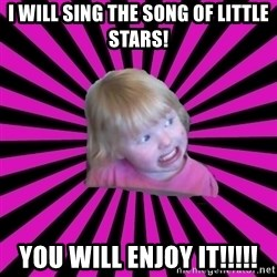 Crazy Toddler - I will sing the song of little stars! You will enjoy it!!!!!