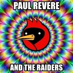 Omsk Crow - PAUL REVERE AND THE RAIDERS