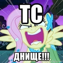 angry-fluttershy - ТС ДНИЩЕ!!!