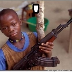 african kid - '