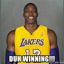 Dwight Howard Lakers -  Duh Winning!!!