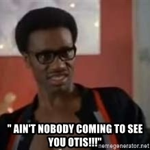 "David Ruffin CLownin -  "" Ain't Nobody coming to see you Otis!!!"""