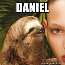 The Rape Sloth - Daniel
