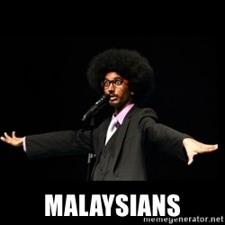 AFRO Knows -  MALAYSIANS