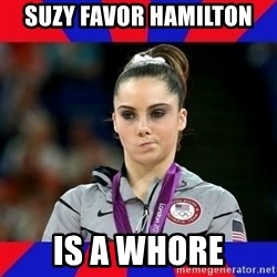 Mckayla Maroney Does Not Approve - Suzy Favor Hamilton is a whore