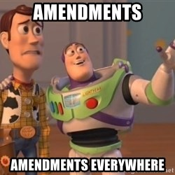 buzz light - Amendments amendments everywhere