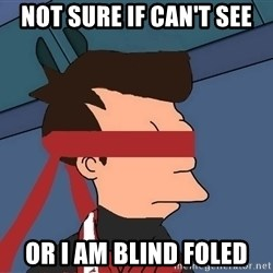 fryshi - not sure if can't see or i am blind foled