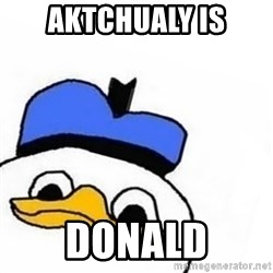 Uncle Dolan pls - aktchualy is donald