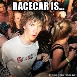 Sudden Realization Ralph - Racecar is...
