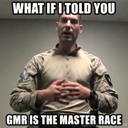 GMRPLS - What if I told you GMR is the master race