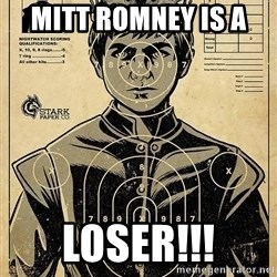 Child queen Phlash Misericord - MITT ROMNEY IS A  LOSER!!!