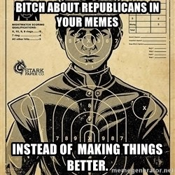 Child queen Phlash Misericord - bitch about republicans in your memes instead of  making things better.