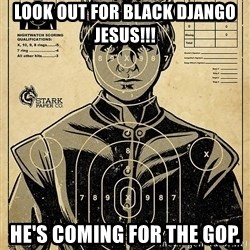 Child queen Phlash Misericord - LOOK OUT FOR BLACK DJANGO JESUS!!! HE'S COMING FOR THE GOP.
