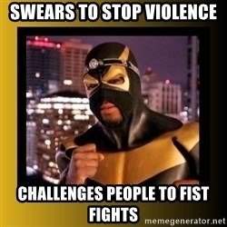 Phoenix Jones - SWEARS TO STOP VIOLENCE CHALLENGES PEOPLE TO FIST FIGHTS