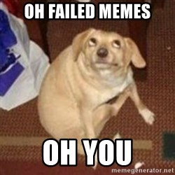 Oh You Dog - oh failed memes oh you