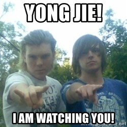 god of punk rock - Yong jie!  i am watching you!