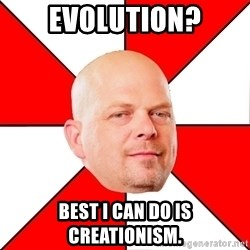 Pawn Stars - EVOLUTION? BEST I CAN DO IS CREATIONISM.