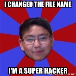 Hacker Boy - i changed the file name i'm a super hacker