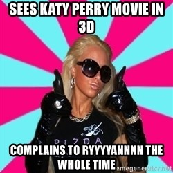 Glamour Girl - sees katy perry movie in 3d complains to ryyyyannnn the whole time