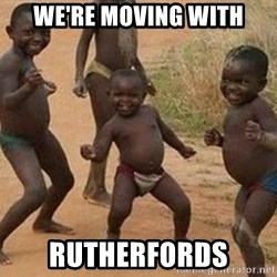 african children dancing - We're Moving with rutherfords