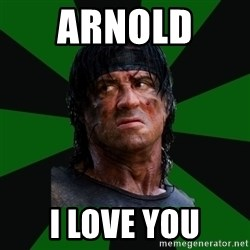 remboraiden - ARNOLD  I LOVE YOU